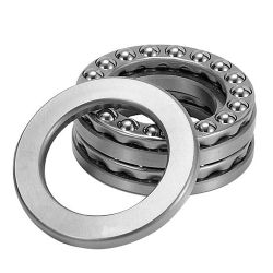 Axial deep groove ball bearings 532, main dimensions to DIN 711/ISO 104, single direction, with spherical housing locating washer, separable