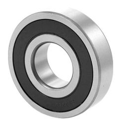 Deep groove ball bearings 62..-2RSR, main dimensions to DIN625-1, lip seals on both sides