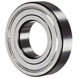 Deep groove ball bearings 62..-Z, main dimensions to DIN625-1, gap seal