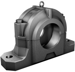 Plummer block housings, main housing, split, for spherical roller bearings with cylindrical bore, metric and inch size shaft diameters