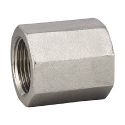 Threaded Pipe Fittings Hexagonal PT Socket- From Flobal