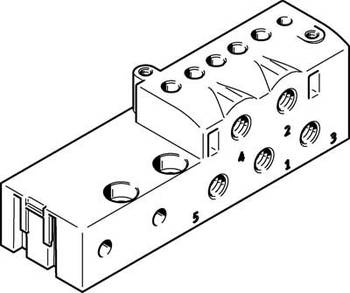 Connector plate, MHA2 Series