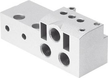 Connector plate, MHA4 Series