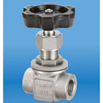 Stainless Steel, 42 MPa, Screw-In, Stop Valve