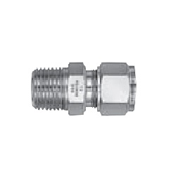 Stainless Steel, 2-Compression Ring Type, Powerful Lock (R Screw Half Union)