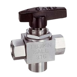 Stainless Steel 16.2 MPA Super Mini 3 Ball Valve