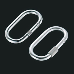 Carabiner O Type (with Ring, Without Ring)