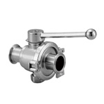 Z Sanitary Manual Two-Way Ball Valve (ZKSS-F)