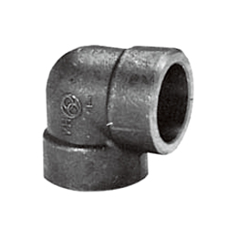 Forged Steel High Pressure Insert weld Tube Fitting A 90° Elbow