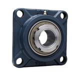 Cast Iron Square Flanged Unit, Adapter Type, UKF (Adapter Sold Separately)