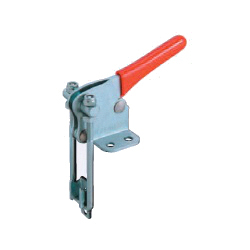 Latch Type Toggle Clamps with Flanged Base / U-Hook, GH-40344/GH-40344-SS