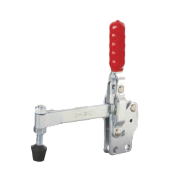 Toggle Clamp - Vertical-Handled - Long Solid Arm (Straight Base) GH-12147