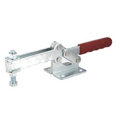 Toggle Clamp - Horizontal - U-Shaped Long Arm (Flange Base) GH-204-GBL