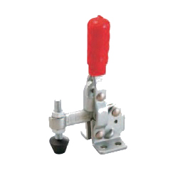 Toggle Clamp - Vertical-Handled - Fixed-Main-Axis-Arm Type (Flange Base) GH-12050/GH-120505-SS