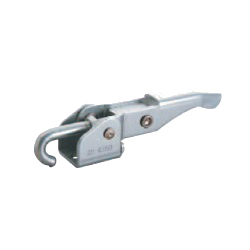 Toggle Clamp - Latch Type - Flanged Base, J-Shaped Hook, GH-43150