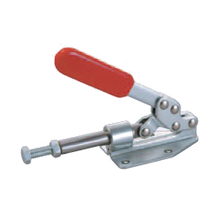 Toggle Clamp - Push-Pull - Flanged Base, Stroke 30 mm, Straight Handle, GH-36020M