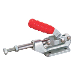 Toggle Clamp - Push-Pull - Flanged Base, Stroke 31.8 mm, Straight Handle, GH-36003M