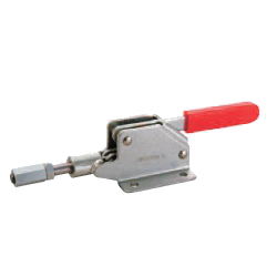 Toggle Clamp - Push-Pull - Flanged Base, Stroke 23 mm, Straight Handle, GH-30290M