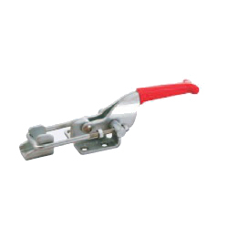 Toggle Clamp - Pull Action Type - Flanged Base, U-Shaped Hook GH-40341/GH-40341-SS