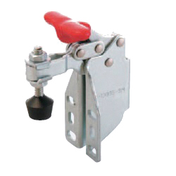 U-Shaped Arm Toggle Clamp, Horizontal, with Side Mount Flanged Base, T-Shaped Handle GH-13007-SM
