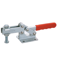 Toggle Clamp - Horizontal - Slotted Arm (Flanged Base) GH-204-GB