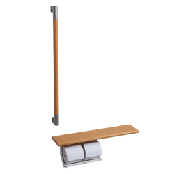 Paper Roller with Shelf/Handrail Type