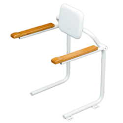 Handrail for Toilets, with or Without Backrest