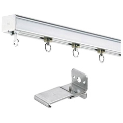 Large Curtain Rail, D40 Rail