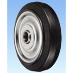 CR Type Steel Plate-Made Chloroprene Rubber Wheel for Heat Resistance