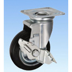 Swivel Caster for Medium Loads (with Rotation Stopper) HJStype Size 130 mm / 150 mm
