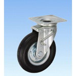 Industrial Vehicle Caster, Swivel (with Double Stopper) HLJB Type