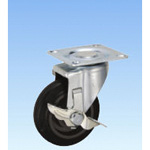 Static Flow Swivel Caster (with Rotation Stopper) PCJCStype Size 100 mm to 150 mm