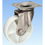 JA-Type Stainless Steel Swivel Caster 150‑mm Size (Metal Fitting Only, No Wheel)