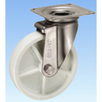 Stainless Steel Caster, Swivel JAtype Size 200 mm