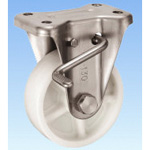 Stainless Steel Caster, Fixed (with Rotation Stopper) KABZtype Size 130 mm