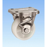 Stainless Steel Caster, Fixed (with Rotation Stopper) KABZtype Size 75 mm