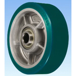 R Type Die-Cast Urethane Rubber Wheel for Heavy Loads