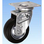 Swivel Caster for Medium Loads (with Double Stopper) JBtype, Size 100 mm
