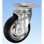 Swivel Caster for Medium Loads (with Double Stopper) JBtype, Size 150 mm