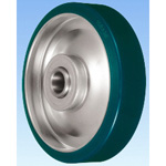SUI Type Steel Plate-Made Urethane Rubber Wheel