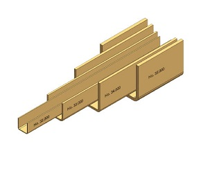 "Door Hanger ""Niko"" Guide Rail"