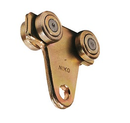 "Door Hanger Sash Hanger for ""Niko"" (Multi-Roller) (for Trolley Hangers)"