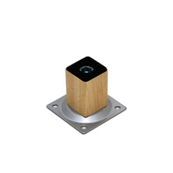 Smart Leg Wooden Square Leg Type (Silver)