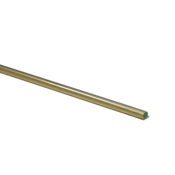 Cylindrical rod Brass