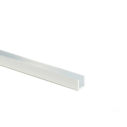 Aluminum Material For Hobbies, Aluminum Channel (L 300 mm)