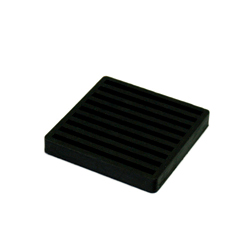 Dual Face Vibration-Proof Ribbed Rubber