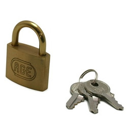 Padlock, Specified Key Number