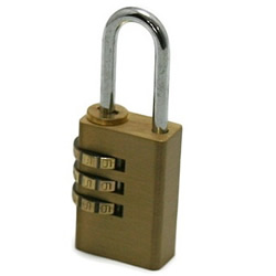 3-Step Type Character Combination Lock