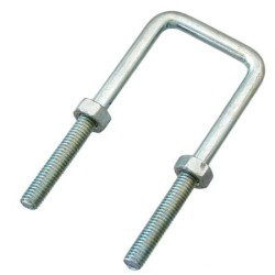 Long Legged Type U-Shaped Bright Chromate Bolt With Nuts