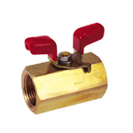 Brass Ball Valve BBS Series wing Handle Type
